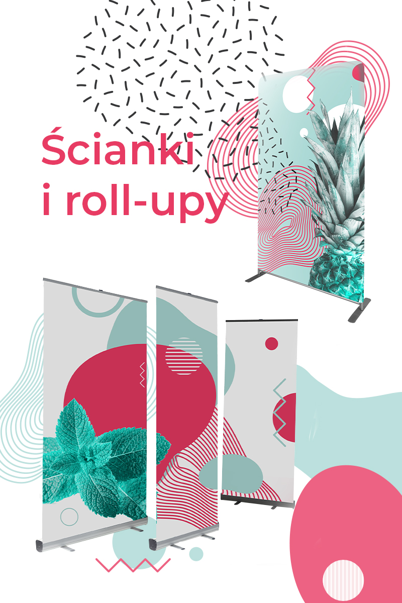 ścianki i roll upy - mobile